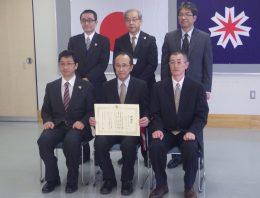 平成28年度 災害対応等協力者表彰の受賞